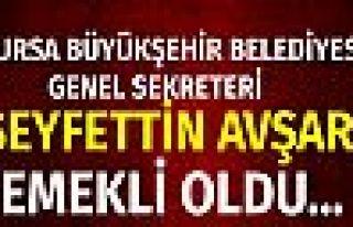 Bursa Büyükşehir Belediyesi'nde flaş ayrılık!