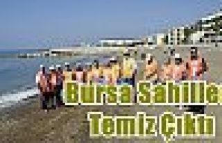 Bursa Sahilleri Temiz Çıktı