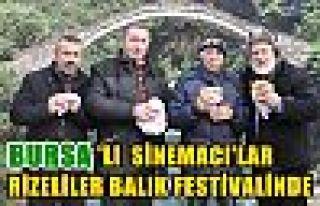 Bursalı Sinemacılar Rizeliler Hamsi Festivalinde