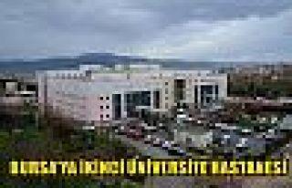 Bursa'ya ikinci üniversite hastanesi