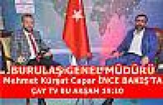 BURULAŞ GENEL MÜDÜRÜ MEHMET KÜRŞAT CAPAR İNCE...