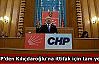 CHP'den Kılıçdaroğlu'na ittifak için tam yetki