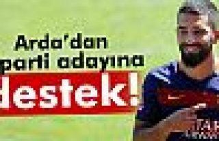 CHP'li Aslanoğlu'na Arda Turan'dan destek