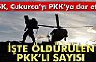 Çukurca'da öldürülen terörist sayısı 204'e...
