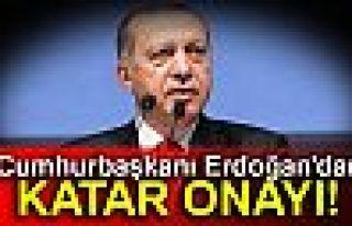 Cumhurbaşkanı Erdoğan, Katar'a Türk askeri konuşlandırılması...