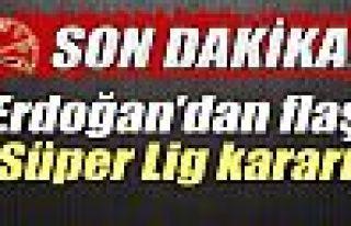 Cumhurbaşkanı Erdoğan, Süper Lig'in kaptanlarıyla...