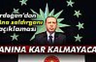 Cumhurbaşkanı Erdoğan: Yanına kar kalmayacak