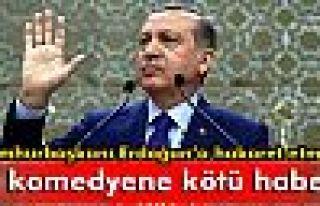 Cumhurbaşkanı Erdoğan'a hakaret eden komedyene...
