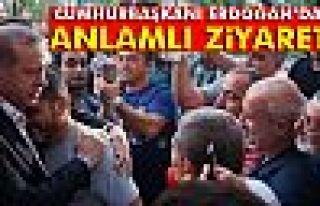 Cumhurbaşkanı Erdoğan'dan 15 Temmuz şehitlerinin...