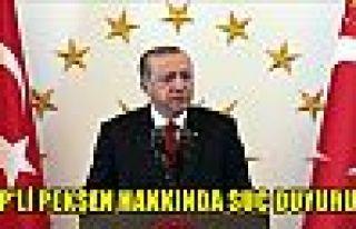 Cumhurbaşkanı Erdoğan'dan CHP'li Pekşen hakkında...
