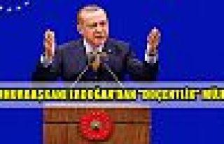 Cumhurbaşkanı Erdoğan'dan 'doçentlik' müjdesi