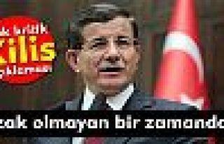 Davutoğlu'ndan çok kritik 'Kilis' açıklaması