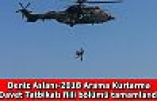 Deniz Aslanı-2018 Arama Kurtarma Davet Tatbikatı...