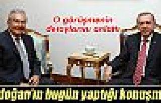 Deniz Baykal, Cumhurbaşkanı Erdoğan ile görüşmesini...