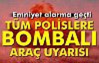 Diyarbakır polisine bombalı araç uyarısı