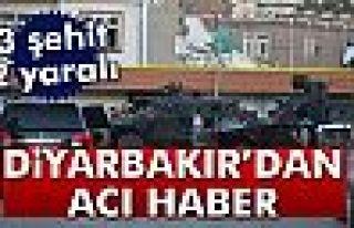Diyarbakır'da polis ile teröristler çatıştı:...