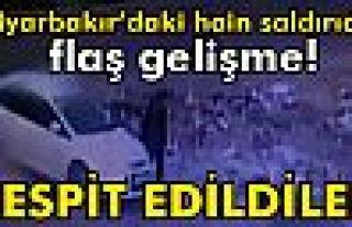 Diyarbakır'daki hain saldırının teröristleri...