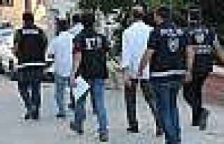 Elazığ'da FETÖ/PDY operasyonu: 60 polise gözaltı