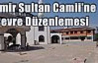Emir Sultan Camii'ne Çevre Düzenlemesi