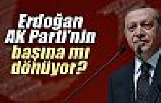 Erdoğan AK Parti'nin başına mı dönüyor?