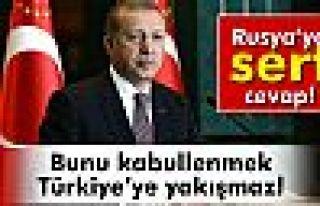 Erdoğan: 'Bunu kabullenmek Türkiye'ye yakışmaz'