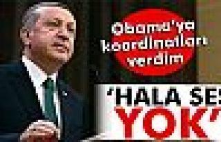 Erdoğan: 'Obama'yla söz konusu şehrin koordinatlarını...