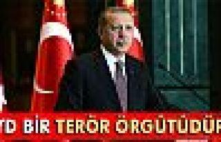 Erdoğan: 'PYD bir terör örgütüdür!'