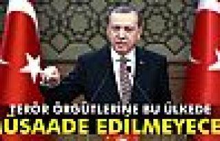 Erdoğan: 'Terör örgütlerine bu ülkede müsaade...