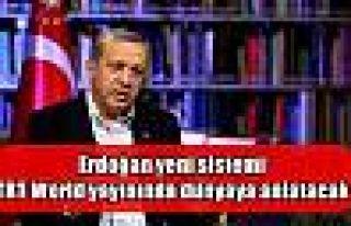 Erdoğan yeni sistemi TRT World yayınında dünyaya...