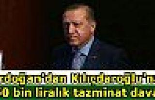 Erdoğan'dan Kılıçdaroğlu'na 250 bin liralık...