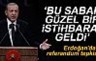 Erdoğan'dan referandum tepkisi