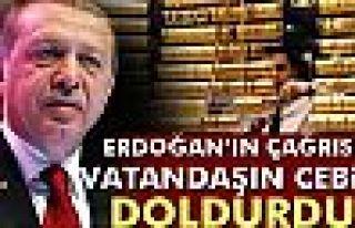 Erdoğan'ın çağrısı vatandaşın cebini doldurdu