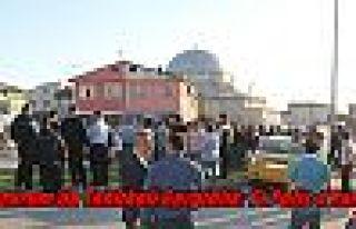 Erzurum'da Tehlikeli Gerginlik: 1'i Polis 4 Yaralı