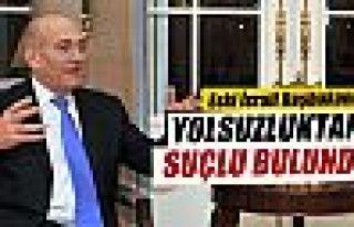 Eski İsrail Başbakanı Olmert yolsuzluktan suçlu...