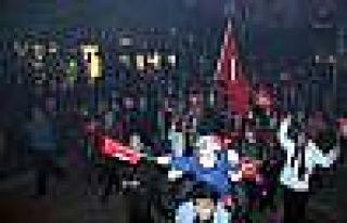 Eskişehir Ülkü Ocaklarından Mehterli Yürüyüş