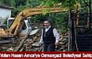 Evi Yıkılan Hasan Amca'ya Osmangazi Belediyesi...