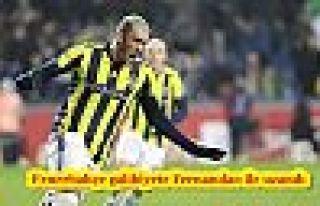Fenerbahçe galibiyete Fernandao ile uzandı