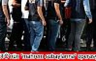 FETÖ'nün 'mahrem subaylarına' operasyon