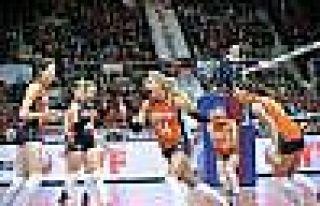 Filenin Sultanları, Hollanda'ya 3-0 Mağlup Oldu