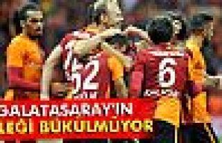 Galatasaray'ın 67 gündür bileği bükülmüyor