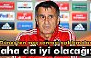 Güneş: 'Beşiktaş'ın daha da iyi olacağını...