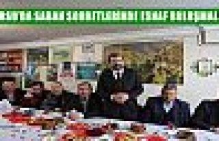 GÜRSU'DA SABAH SOHBETLERİNDE ESNAF BULUŞMALARI