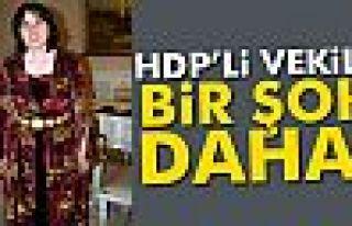 HDP'li vekile bir şok daha