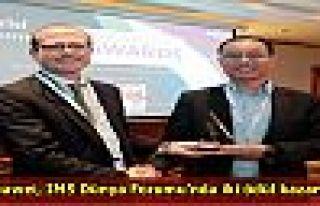 Huawei, IMS Dünya Forumu'nda iki ödül kazandı