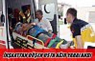 İnşaattan düşün işçi ağır yaralandı