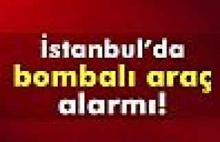 İstanbul girişinde bombalı araç araması
