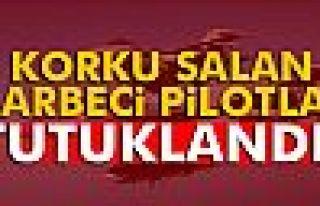 İstanbul semalarında uçuş yapan darbeci pilotlar...
