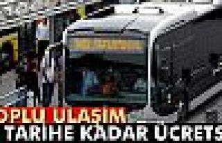 İstanbul'da toplu ulaşım Çarşamba gecesine kadar...