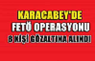 Karacabey'de FETÖ operasyonu: 8 gözaltı
