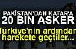 KATAR'A 20 BİN ASKER!